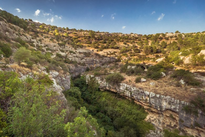 Panorama valle del calcinara